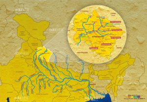 Ganga-River-System-Map