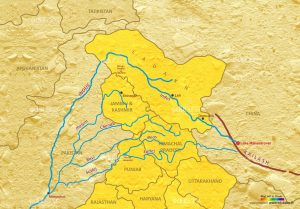 Indus River System Map