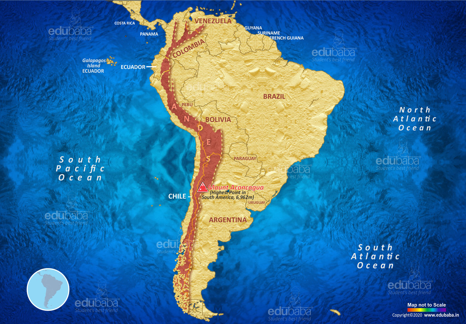 Andes Mountains | Definition, Map & Facts for Exam